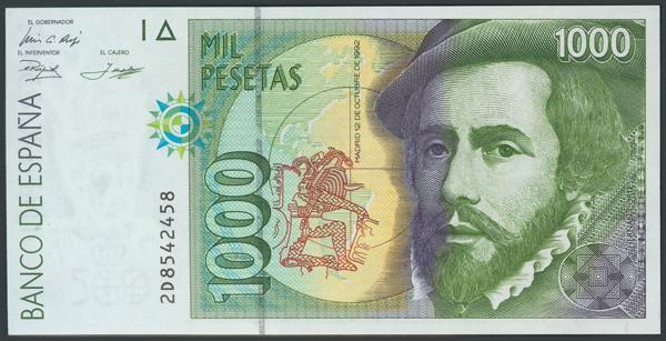 772 - Billetes Españoles