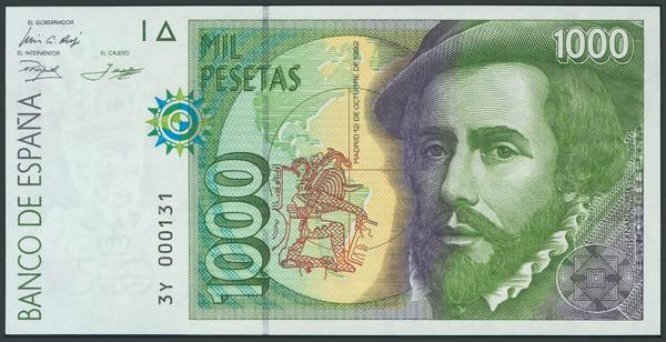 773 - Billetes Españoles