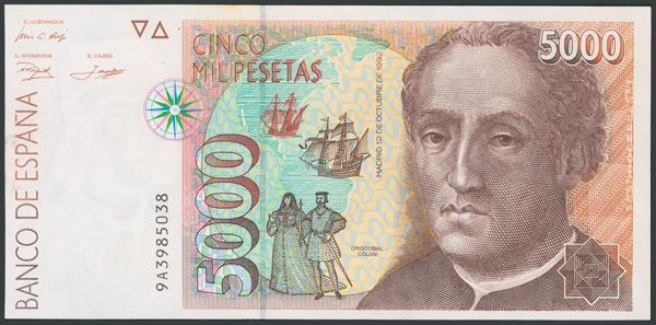 774 - Billetes Españoles