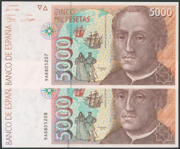 775 - Billetes Españoles
