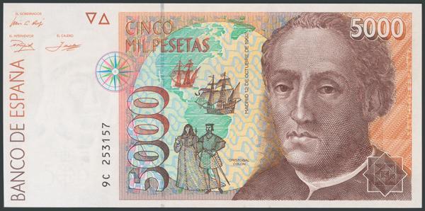 776 - Billetes Españoles