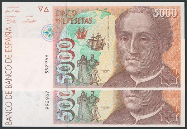 778 - Billetes Españoles