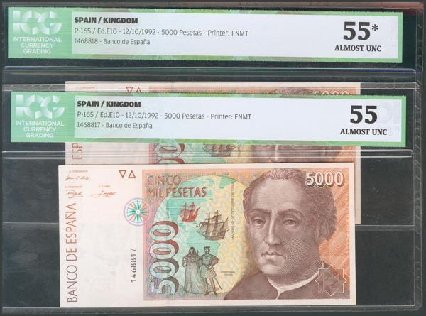 779 - Billetes Españoles