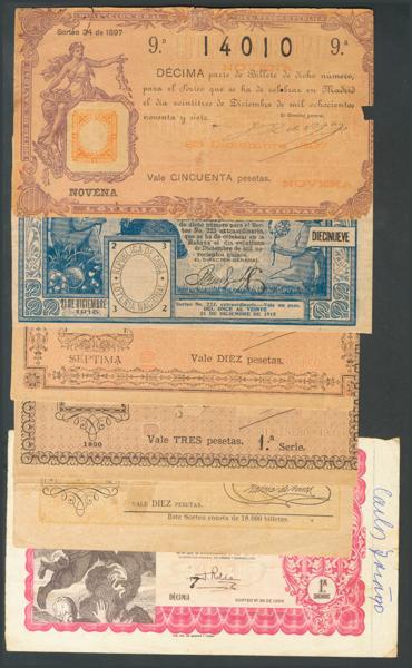 788 - Billetes Españoles