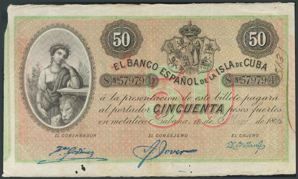 800 - Billetes Españoles