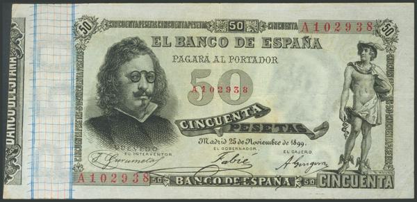 25 - Billetes Españoles