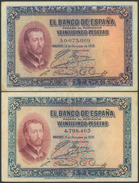 37 - Billetes Españoles
