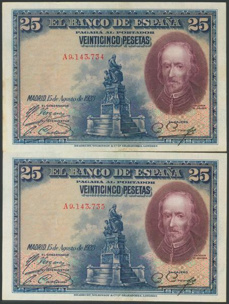 45 - Billetes Españoles
