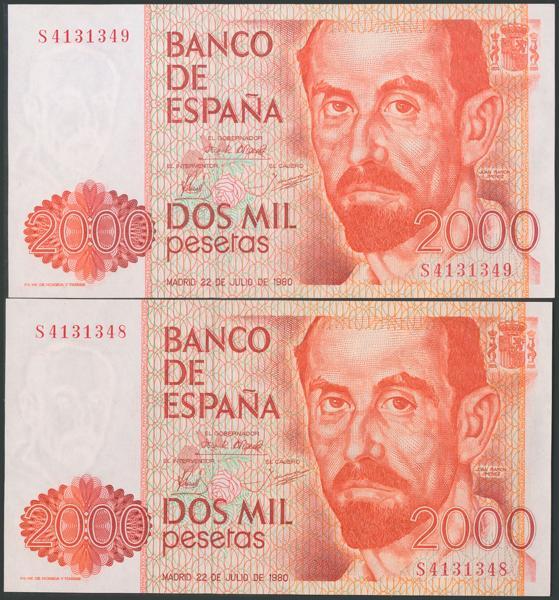 551 - Billetes Españoles