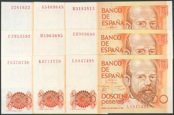 552 - Billetes Españoles