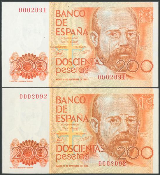 555 - Billetes Españoles
