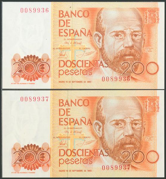 556 - Billetes Españoles