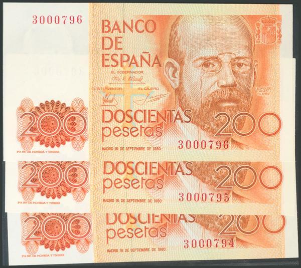 557 - Billetes Españoles