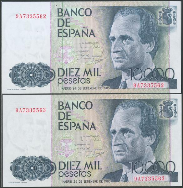566 - Billetes Españoles