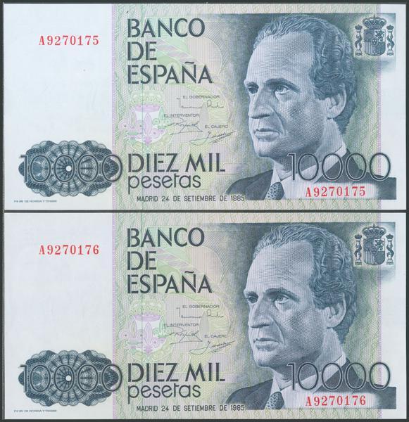 567 - Billetes Españoles