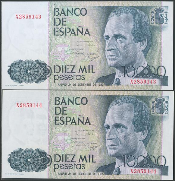 568 - Billetes Españoles