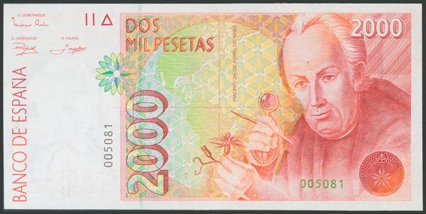 569 - Billetes Españoles