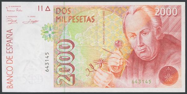 570 - Billetes Españoles