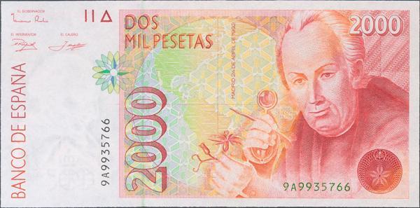 573 - Billetes Españoles