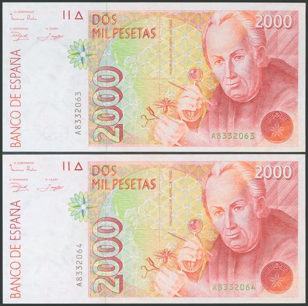 575 - Billetes Españoles