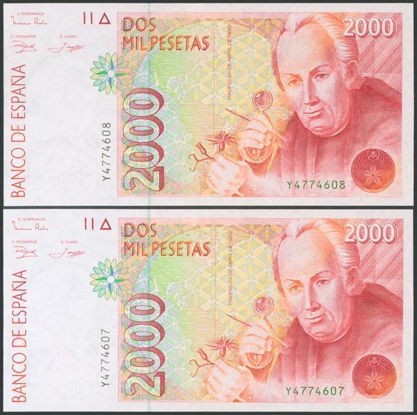 576 - Billetes Españoles