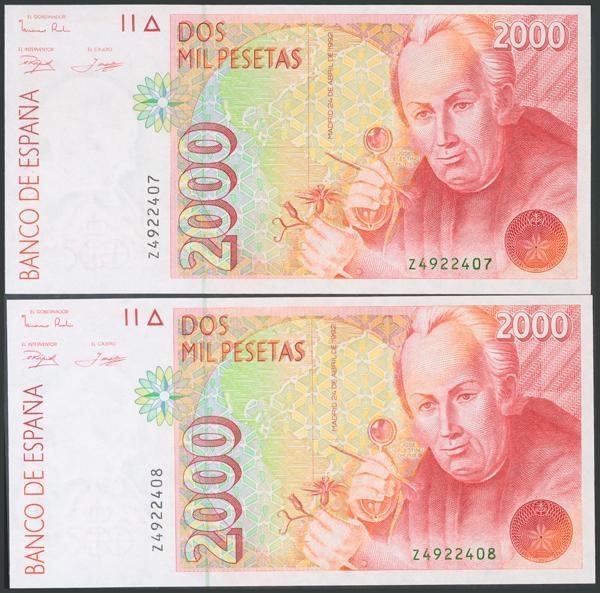 577 - Billetes Españoles