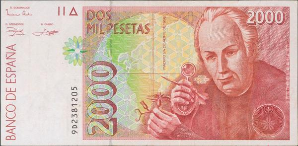 578 - Billetes Españoles