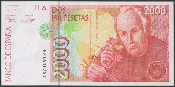 579 - Billetes Españoles