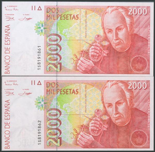 580 - Billetes Españoles