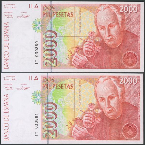 581 - Billetes Españoles