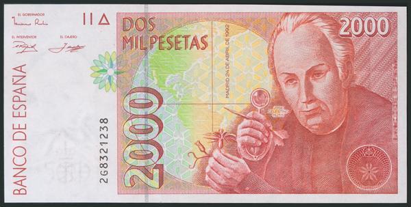 582 - Billetes Españoles