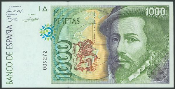 583 - Billetes Españoles