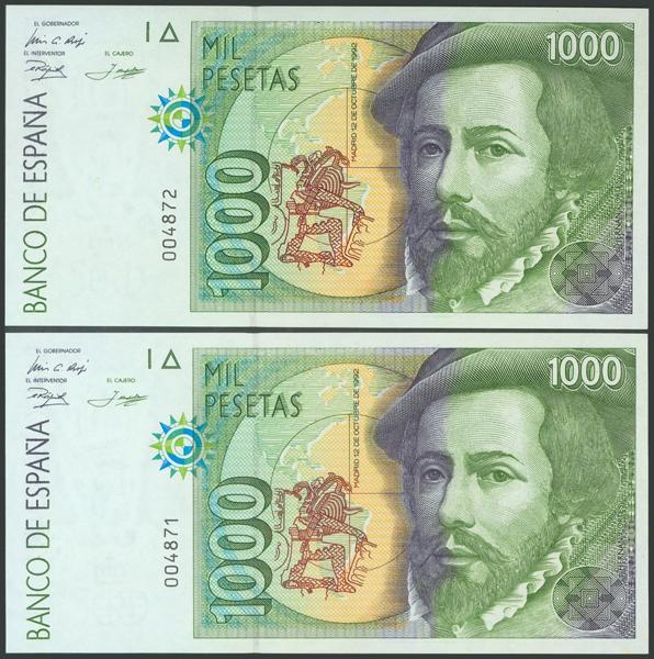 584 - Billetes Españoles