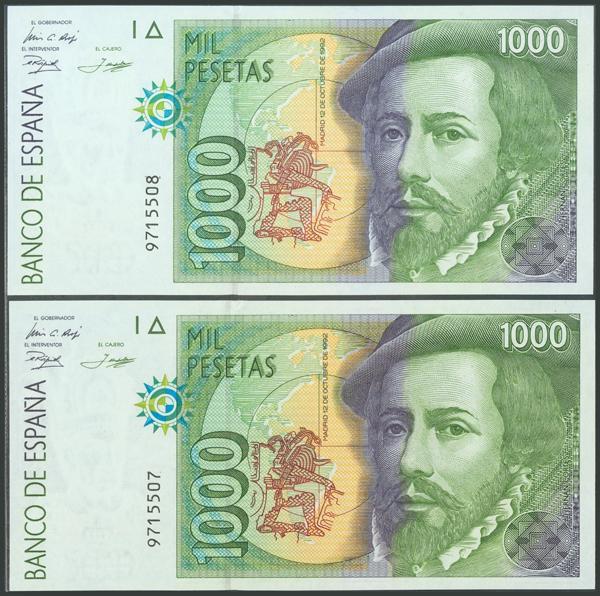585 - Billetes Españoles
