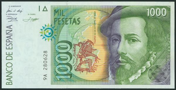 586 - Billetes Españoles