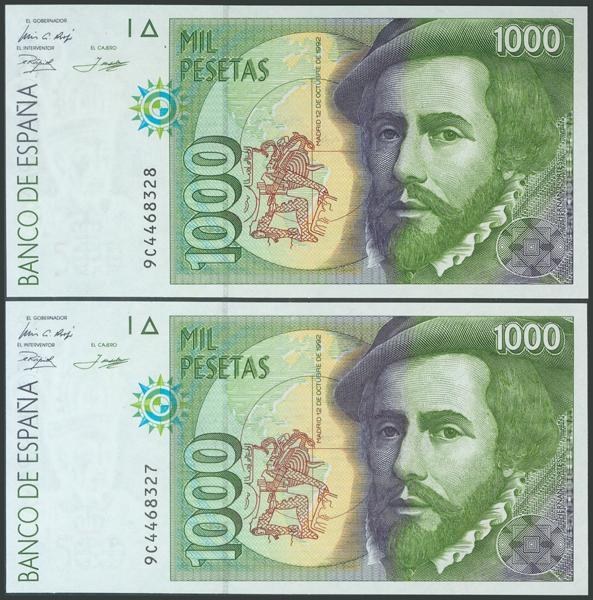587 - Billetes Españoles