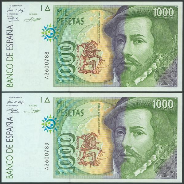 588 - Billetes Españoles