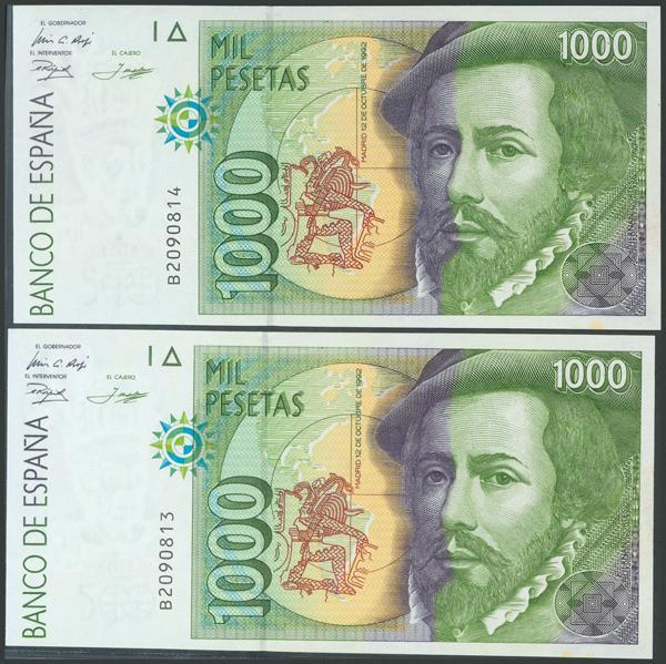 589 - Billetes Españoles