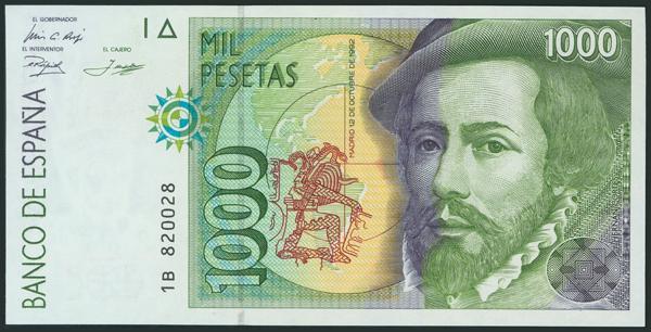 590 - Billetes Españoles