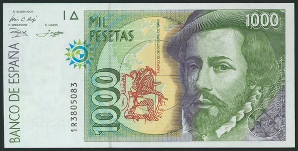 591 - Billetes Españoles