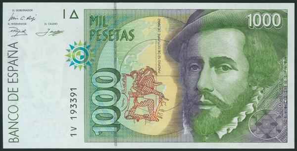 592 - Billetes Españoles