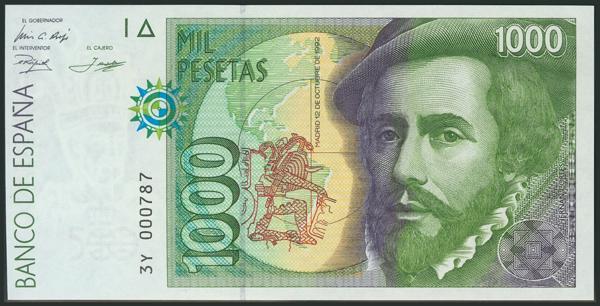 593 - Billetes Españoles