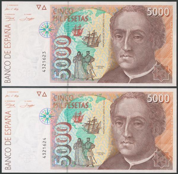 594 - Billetes Españoles