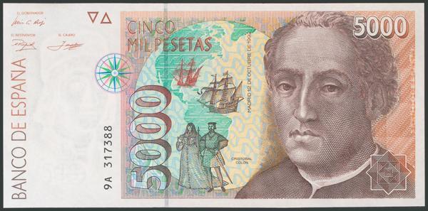 595 - Billetes Españoles