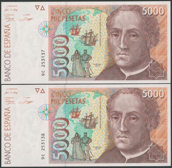 597 - Billetes Españoles
