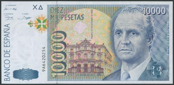 598 - Billetes Españoles