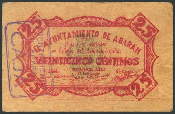655 - Billetes Guerra Civil