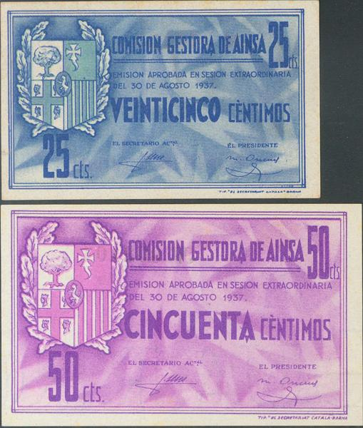 656 - Billetes Guerra Civil
