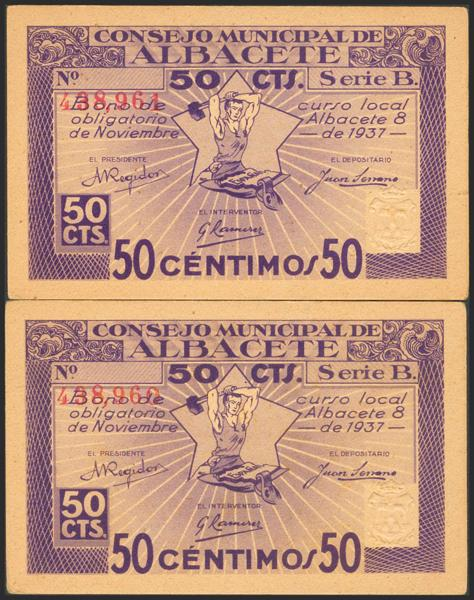 657 - Billetes Guerra Civil