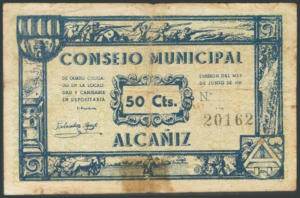 659 - Billetes Guerra Civil